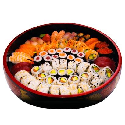anisaki, podemos comer sushi