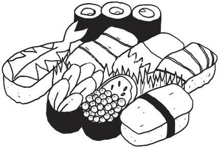 la carta washoku y los nuevos platos de sushi
